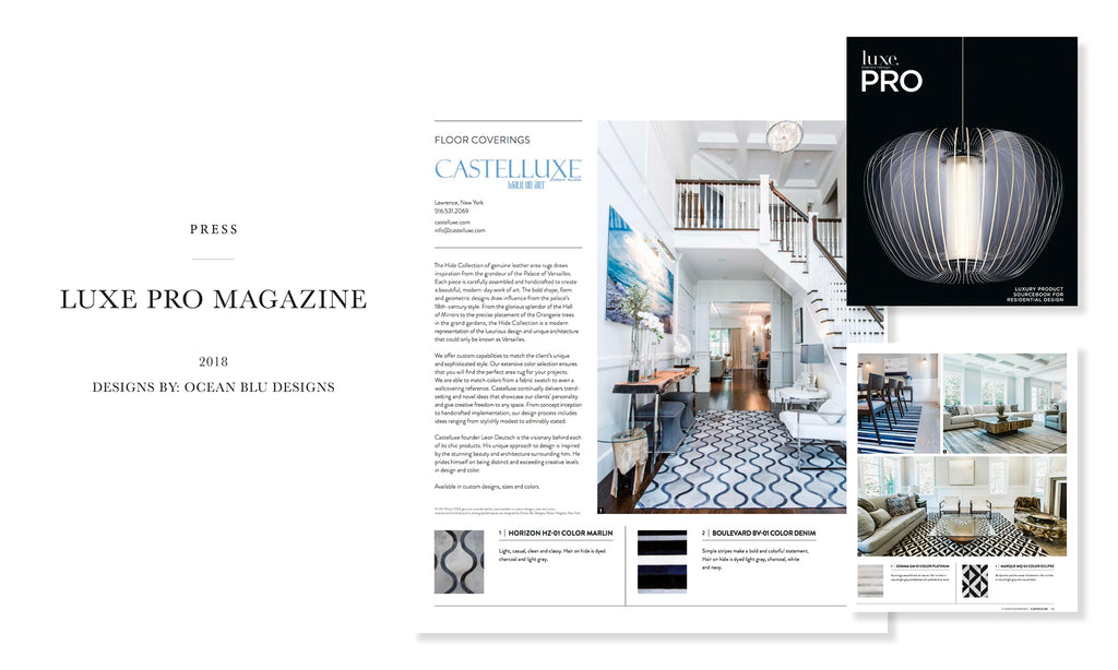 Ocean Blu Designs - Long Island's Best Coastal Modern Interior Designers in Luxe Magazine - Design Hamptons, 2018 New York Issue Ocean Blu Designs - Long Island's Best Coastal Modern Interior Designers in Luxe Magazine - Luxe Pro, 2018