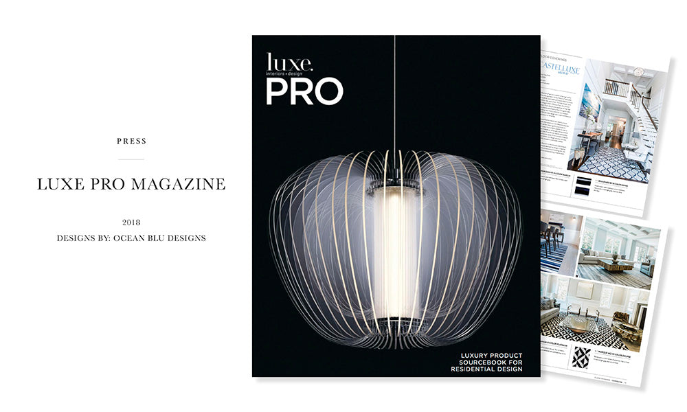 Luxe Magazine - Ocean Blu Designs - Best Interior Design for Coastal Modern Homes on Long Island, New York,  NYC, Manhattan