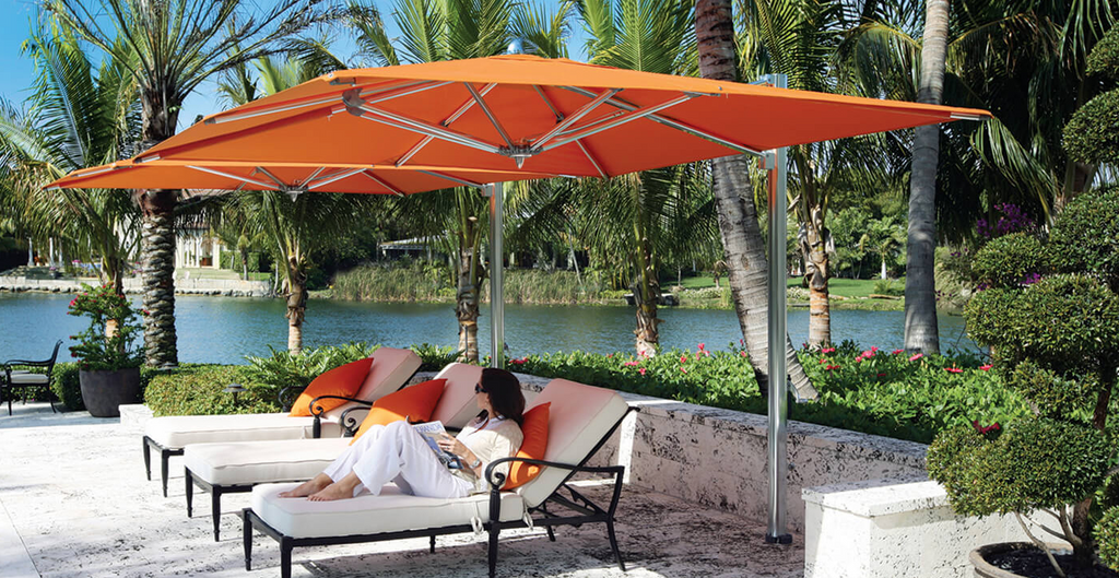 Summer Umbrellas Patio Luxury - Best Long Island, New York - Hamptons Outdoor Furniture Store - Ocean Blu Designs