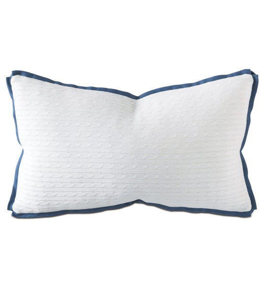 A design from Thom Filicia - this versatile accent pillow can bring your interior design together.