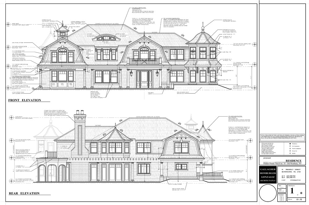 Ocean Blu Designs - New Construction - Hidden Pond, Old Westbury