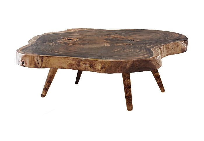 Preserved Wood Coffee Table - www.oceanbludesigns.com