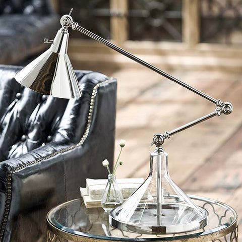 Glass Funnel Beaker Table Lamp