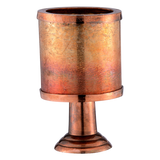 Aluminum Tall Planter Oxodized Copper (Large)