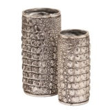 Alligator Texture Vase Set