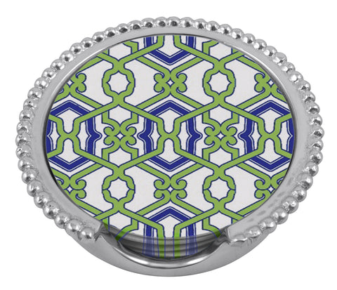 Jacki Beaded Coaster Set