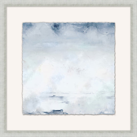 Coastal Clouds 3 - Coastal Framed Wall Art