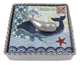 Whale Twist Cocktail Napkin Box Set