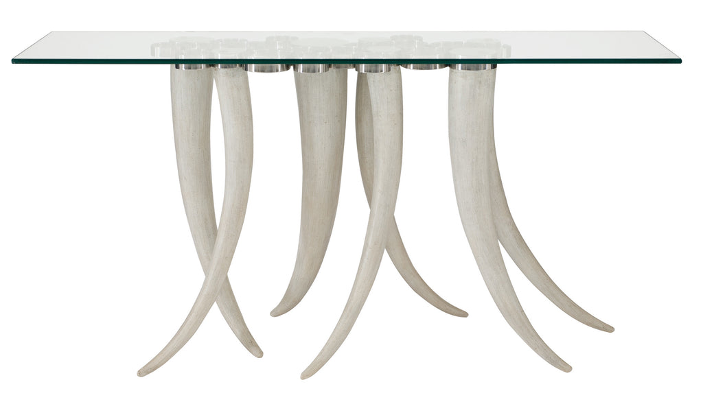 REPIN! Faux Resin Livingston Horn Console Table