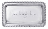 Live, Laugh, Love - Statement Jewelry / Key Tray