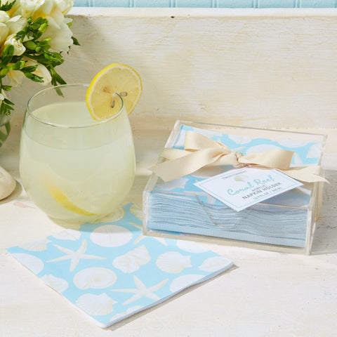 Watercolors Cocktail Napkin