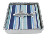 Shark Twist Cocktail Napkin Box Set