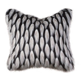 JADIS ONYX KNIFE EDGE Cushion Pillow 22""