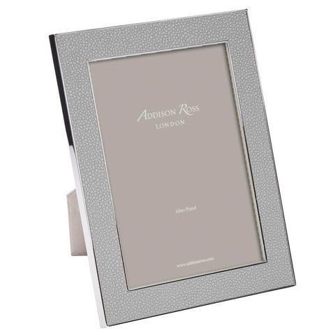 Shagreen Grey Photo Frame 5x7