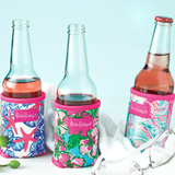 "LILY PULITZER  Drink Hugger ""Pink Colony"""