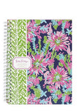LILY PULITZER Mini Notebook / Journal - Trippin and Sippin' Navy
