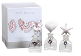 Atlantis Porcelain Diffuser Starfish, Shell, Coral - Triple Gift Set Minis