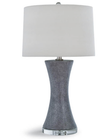 Ceramic Shagreen Clara Lamp