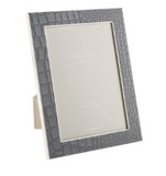 Dove Faux Croc Picture Frame 4x6