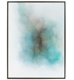 Abstract Coastal Ocean Sky Wall Decor Art