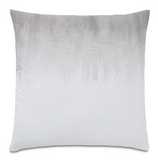 BALDWIN WHITE HAND-PAINTED ACCENT PILLOW