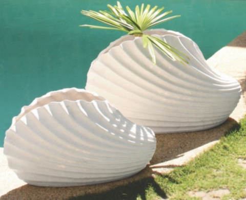 Clam Shell Planter Large
