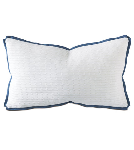 "Thom Filicia ""Jude Ivory Boudoir"" Accent Pillow Cushion"