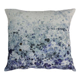 Ocean Colors Spray Feather Throw Pillow 24""