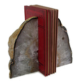 Agate Bookend Pair - Large