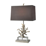 Covington Brass Coral Table Lamp