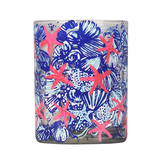 "LILY PULITZER Glass Candle ""She She Shells"""