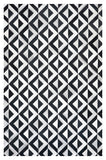 MARQUE Design Cowhide Collection Rug - Eclipse