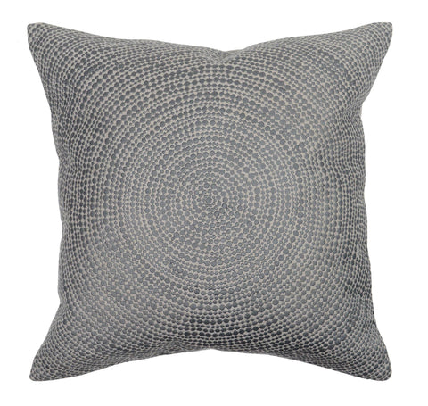 Circular Pillow Cushion - Grey