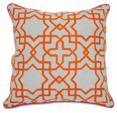 Geometric Tuile Orange
