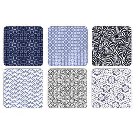 TED BAKER Portmeirion Langdon Coasters - Set of 6