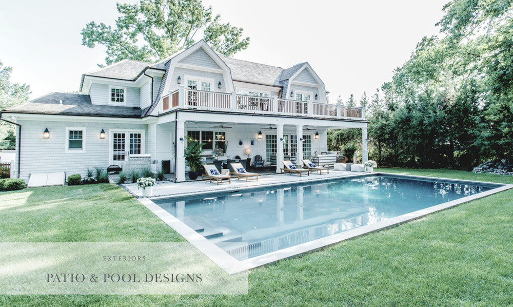 Exterior Pool and Patio Design Portfolio