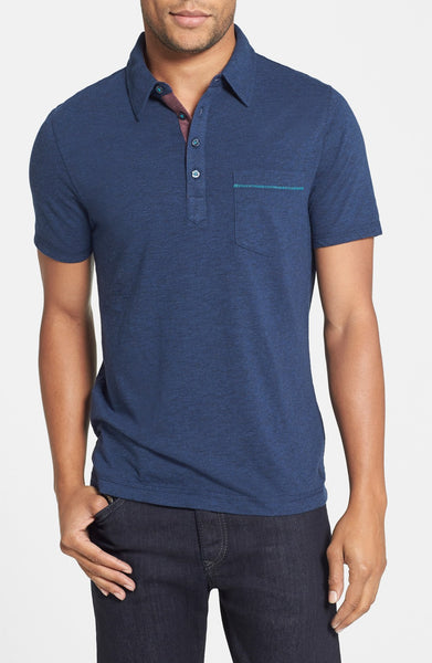 Bing Trim Fit Cotton Jersey Polo