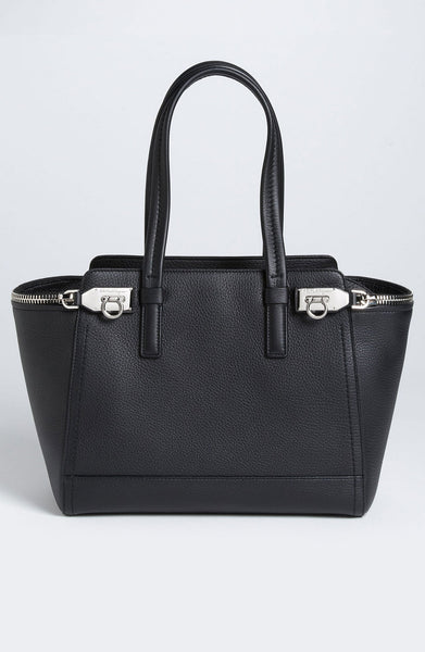 Salvatore Ferragamo 'Small Arianna' Leather Satchel