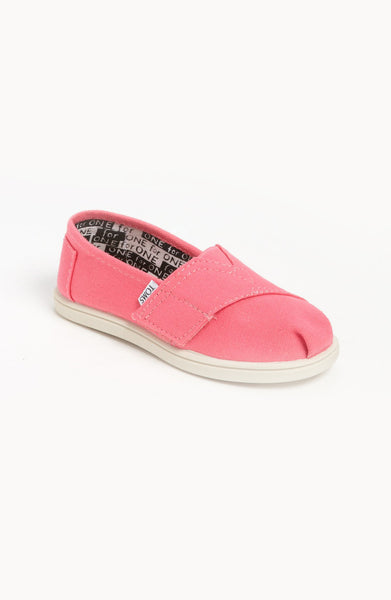 Toms 'Classic - Tiny' Slip-On (Baby, Walker & Toddler)