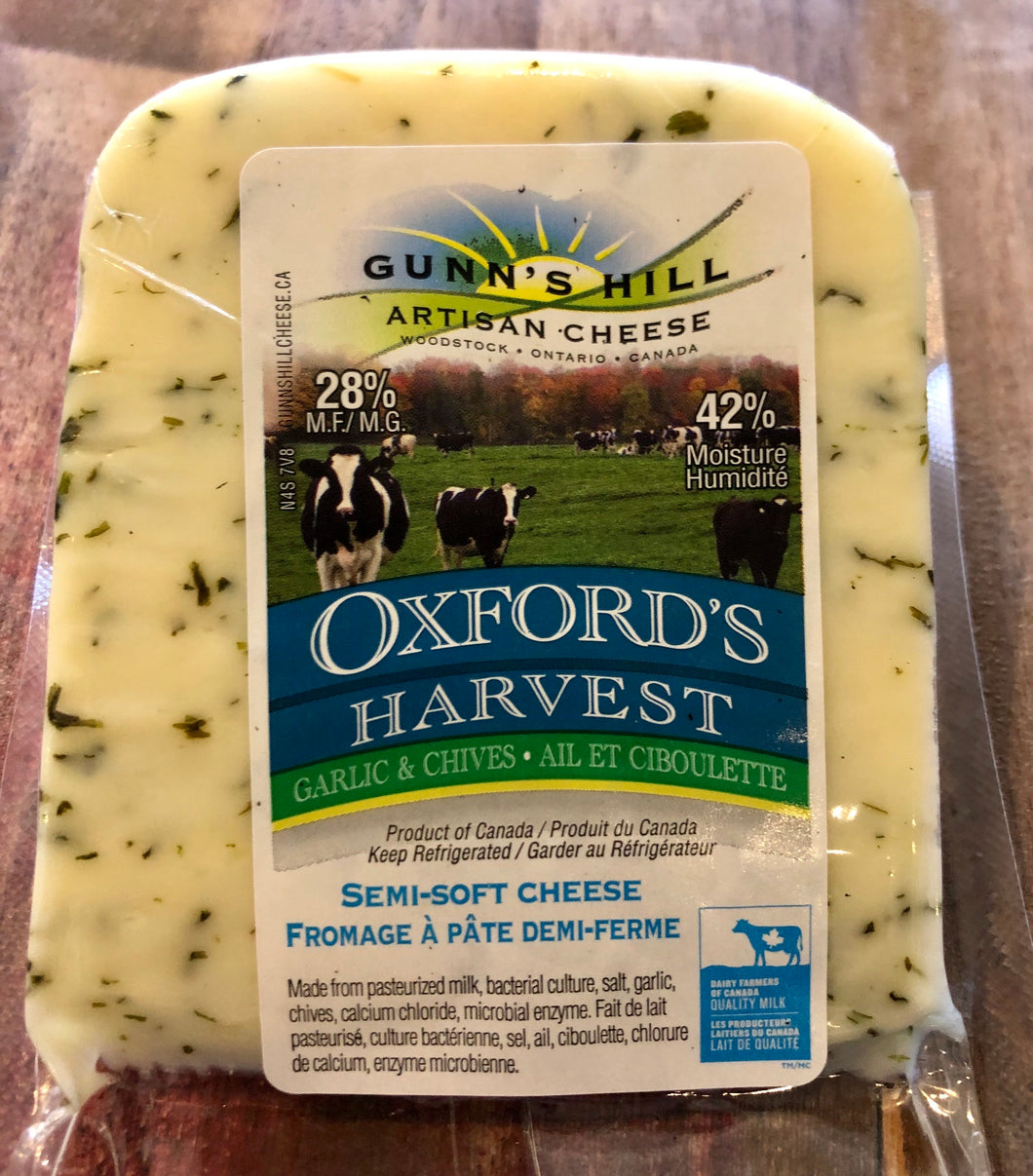 Gunn's Hill - Oxford Harvest with Garlic and Chive