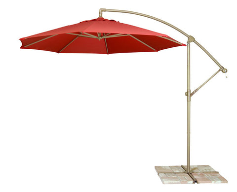 9u0027 octagon cantilever umbrella from treasure garden