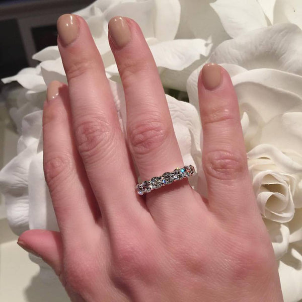 Natasia Eternity Band | Sterling Silver