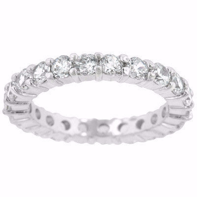 3mm Sterling Eternity Band