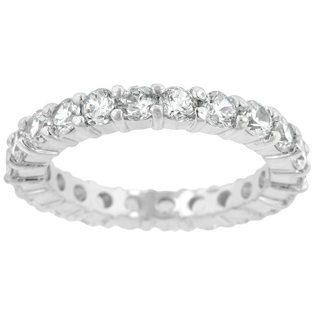 Classic Eternity Wedding Band