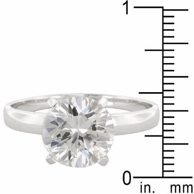 Timeless Round Solitaire Ring