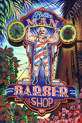 BETTER MAN BARBER SHOP