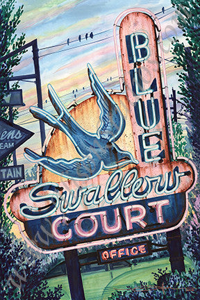 BLUE SWALLOW COURT