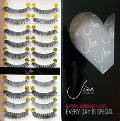 100% Natural Handmade Lashes (10 Pairs)