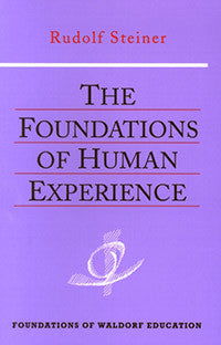 The Foundations of Human Experience, By Rudolf Steiner