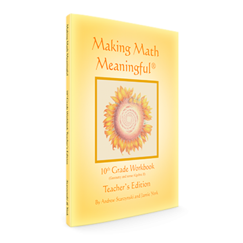 Making Math Meaningful: A 10th Grade Workbook Teacher's Edition